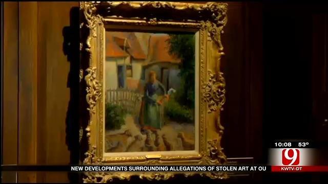 New Developments Surrounding Allegations Of Stolen Art At OU