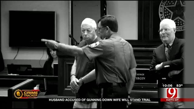 Blanchard Man Accused Of Gunning Down Wife Will Stand Trial