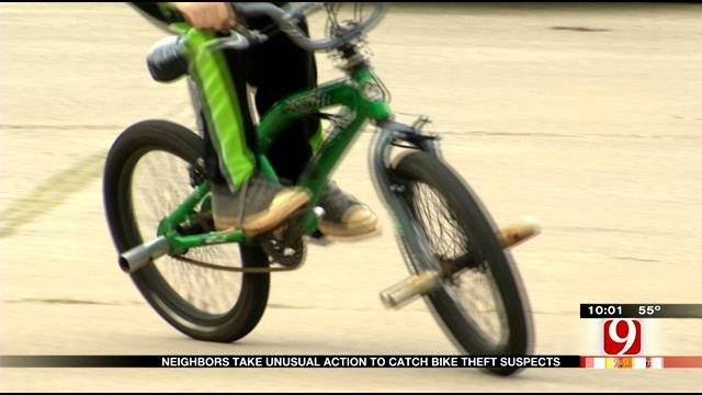 Neighbors Take Unusual Action To Catch Brazen Bicycle Thieves