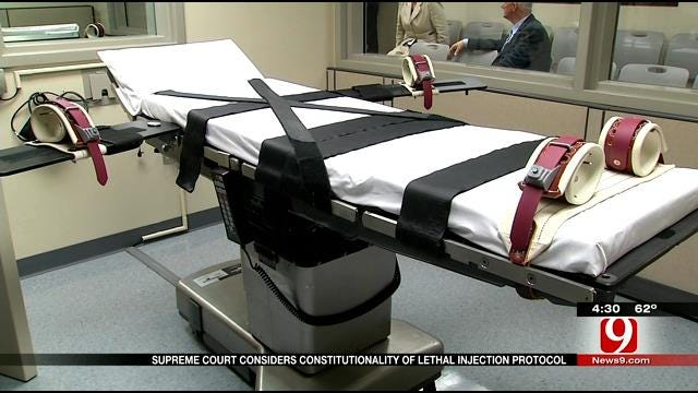 Supreme Court To Rule If Oklahoma Execution Drug Is Constitutional