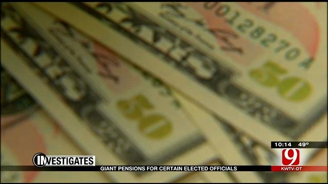 9 Investigates: Giant Pensions For Certain Elected Officials