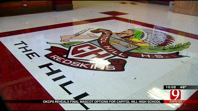 OKCPS Reveals Final Mascot Options For Capitol Hill High School