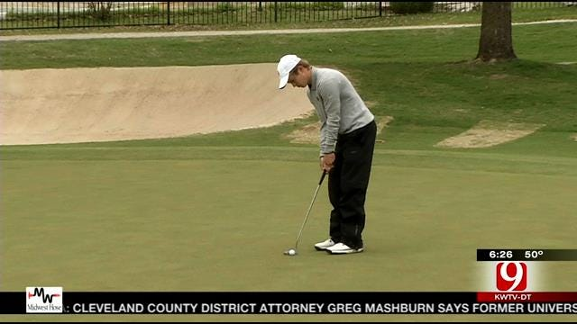 Big 12 Golf Tourney Underway in Tough Conditions