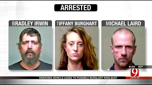 OK Deputy Busts Possible Burglary Ring During Traffic Stop