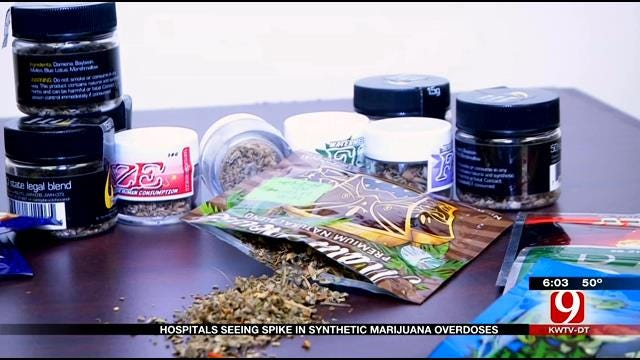 Increase Reported In Synthetic Marijuana Overdoses