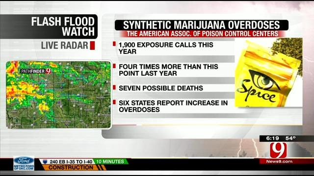 U.S. Hospitals Seeing Spike In Synthetic Marijuana Overdoses