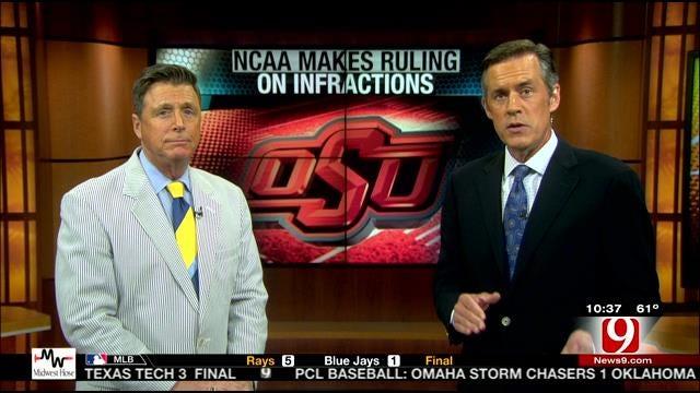 OSU Football Learns NCAA Punishment