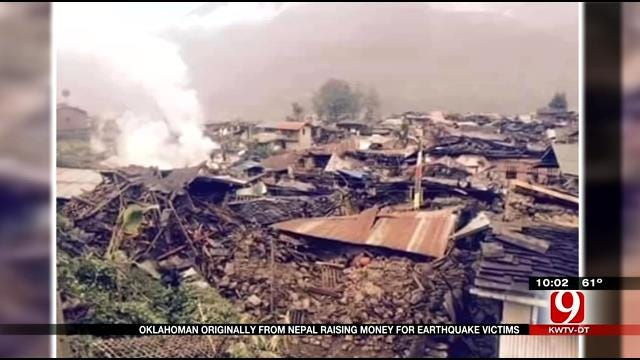 Oklahoman From Nepal Raising Money For Earthquake Victims