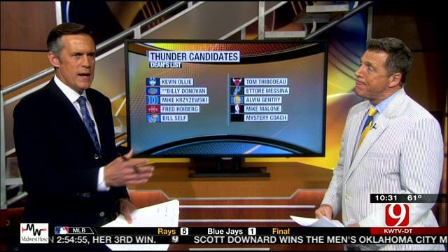 Dean and John Talk Thunder Coaching Candidates