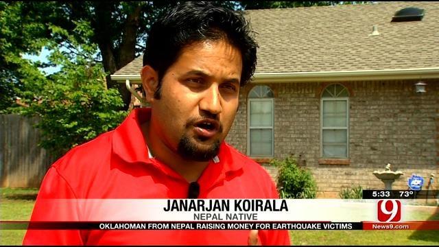 Oklahoman From Nepal Raising Money For Earthquake Victims