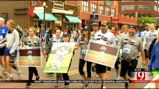 Heart Transplant Brings Two Families Together In OKC Memorial Marathon