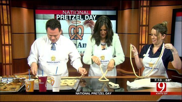 National Pretzel Day: Auntie Ann's Pretzel's