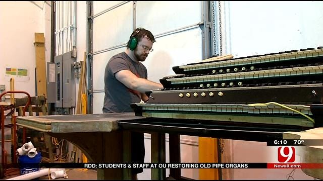 Red Dirt Diaries: OU Pipe Organs Project