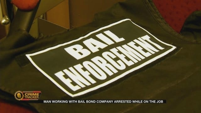 Man Working With An Oklahoma Bail Bond Company Arrested