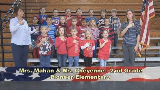 Mrs. Mahan And Ms. Cheyenne's 2nd Grade Class At Pioneer Elementary