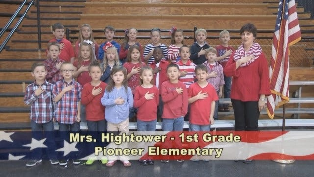 Mrs. Hightower's 1st Grade Class At Pioneer Elementary