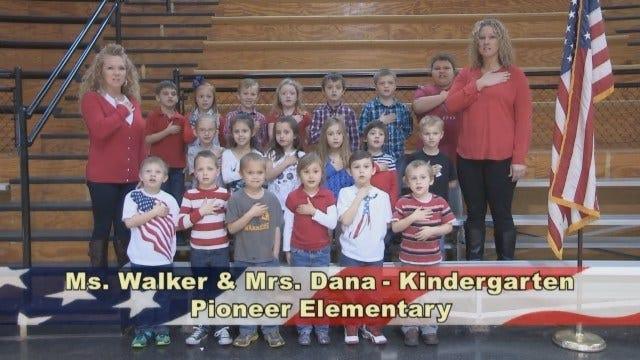 Ms. Walker And Mrs. Dana's Kindergarten Class At Pioneer Elementary