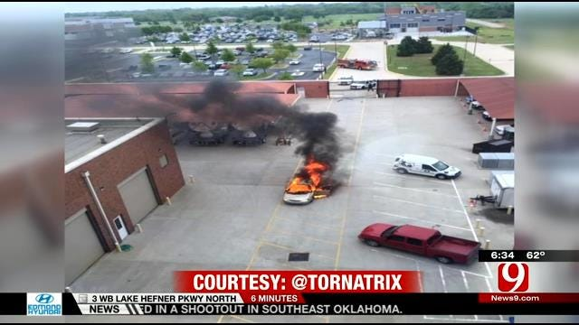 Investigation Continues Into Fatal Car Fire At Norman National Weather Center