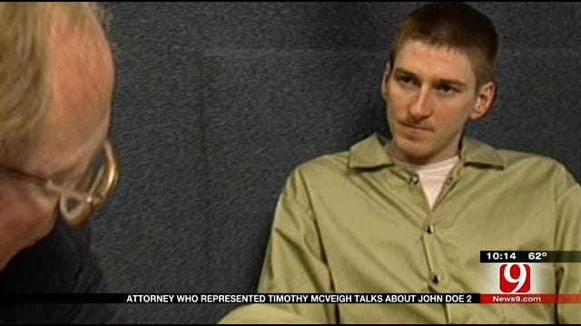 Oklahoma Attorney Remembers Defending OKC Bomber Timothy McVeigh