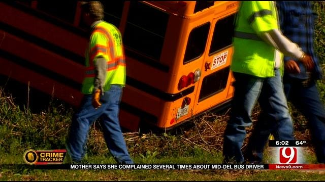 Parent Reacts To Shocking Video Of Mid-Del School Bus Crash