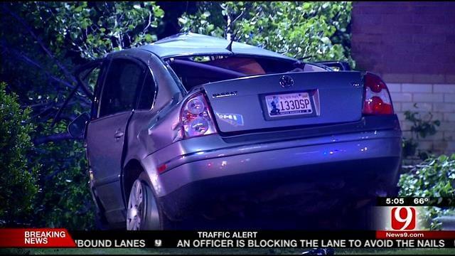 Gun Linked To Recent Burglary Found In Deadly NW OKC Crash
