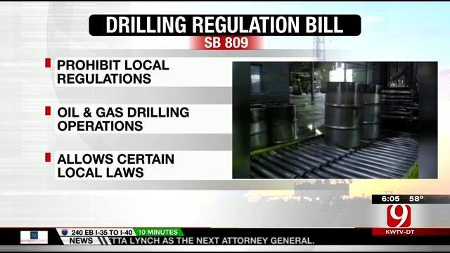 Oklahoma House Passes Drilling Regulation Ban Bill