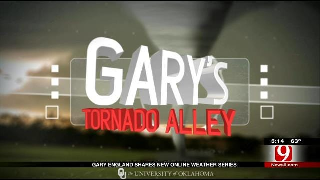 Gary England Shares New Online Weather Series