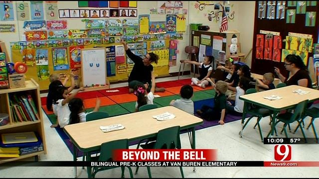 Beyond The Bell: Bilingual Pre-K Classes Offered At OKC School