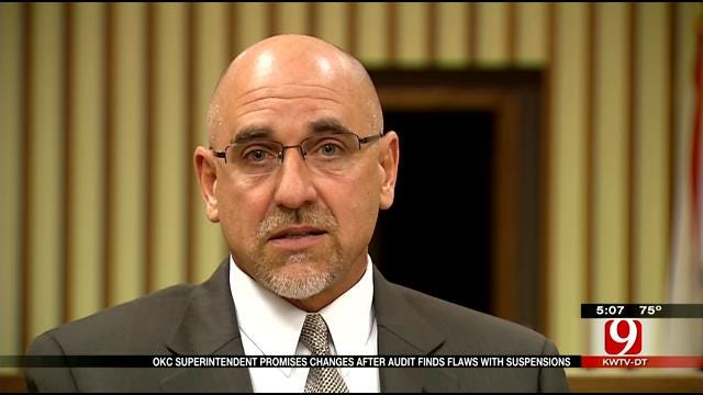 OKC Superintendent Promises Change After Audit Finds Flaws With Suspensions
