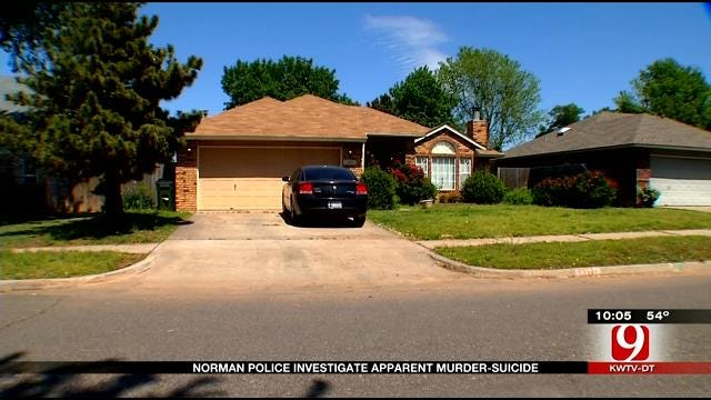 Norman Police Believe Man Stabbed Woman To Death Before Suicide