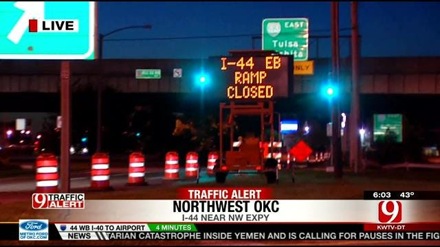 Construction Project Causing Tie-Ups On I-44 Between Western & Penn
