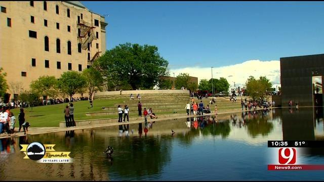 Thousands Flock To OKC National Memorial And Museum