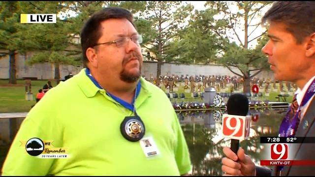 Alex Cameron and Former Nurse On Scene Of OKC Bombing