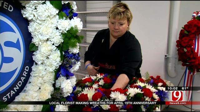 OKC Florist Creates Memorial Flower Arrangements For 20 Years