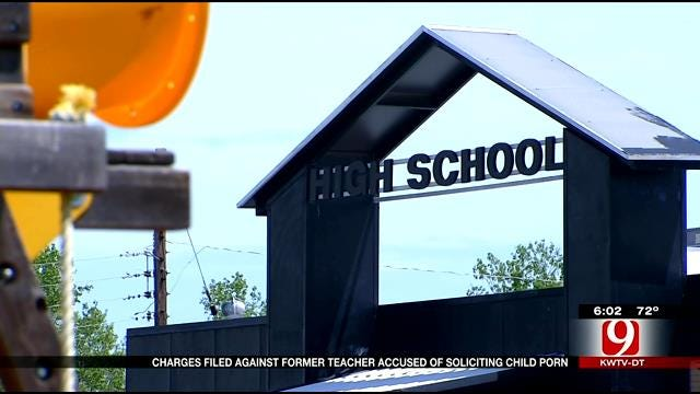 Charges Filed Against Former Wanette Teacher Accused Of Requesting Nude Student Photos