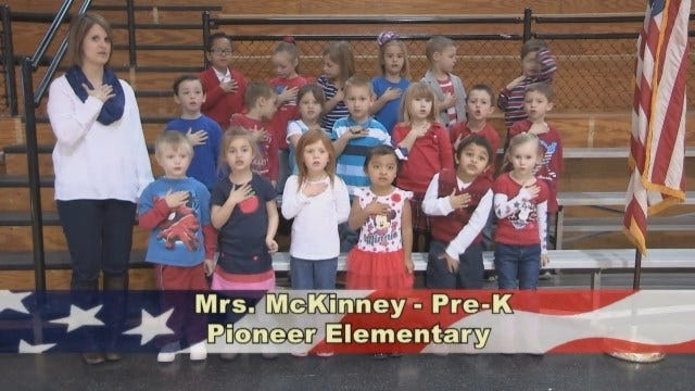 Mrs. McKinney's Pre-K Class at Pioneer Elementary School