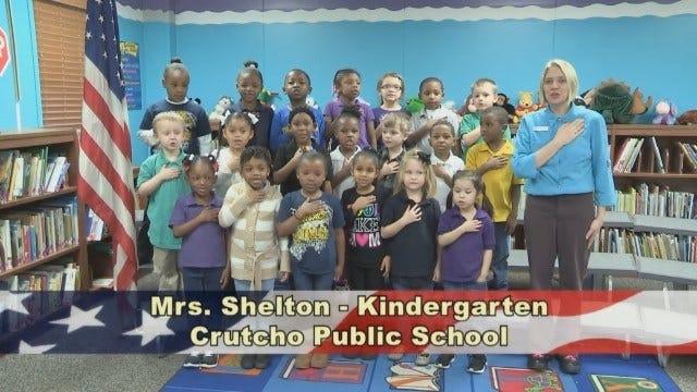 Mrs. Shelton's Kindergarten Class at Crutcho Public Schools