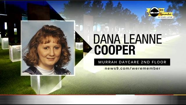 We Remember - 20 Years Later: Dana Cooper