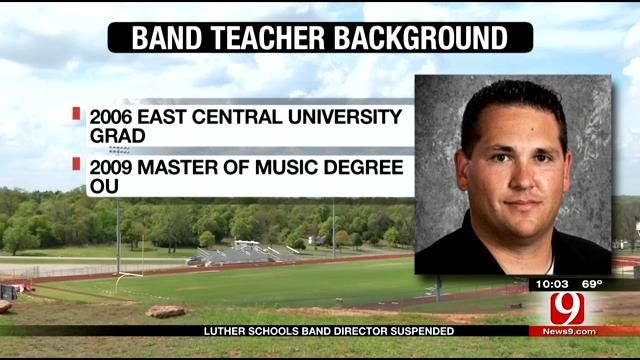 Luther Schools Band Director Suspended