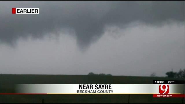 WEB EXTRA: Tornado Touches Down Near Sayre