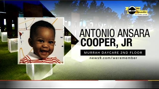 We Remember - 20 Years Later: Antonio Cooper Jr.
