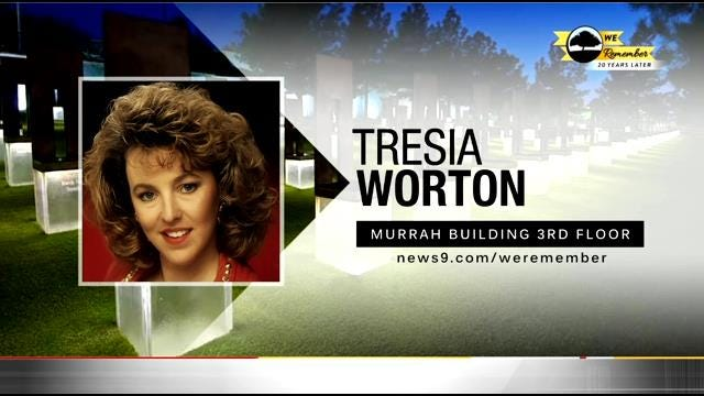 We Remember - 20 Years Later: Tresia Worton