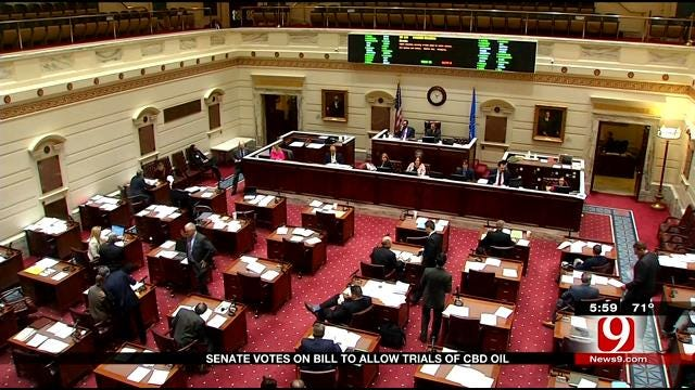 Senate Votes On 'Katie's Bill' To Allow Trials Of CBD Oil In Oklahoma
