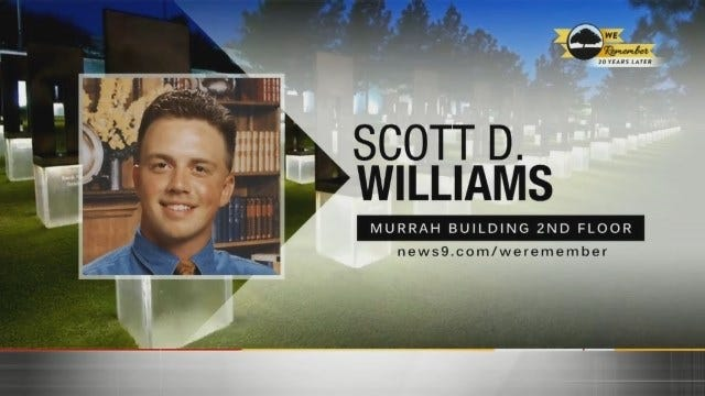 We Remember - 20 Years Later: Scott D. Williams