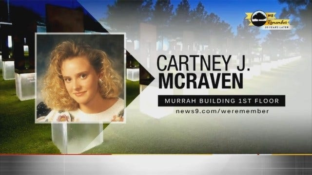 We Remember - 20 Years Later: Cartney Mcraven
