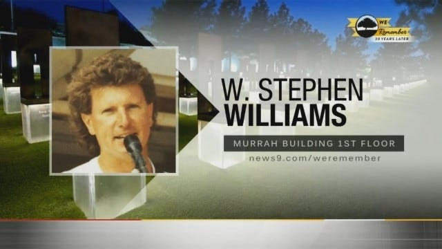 We Remember - 20 Years Later: W. Stephen Williams