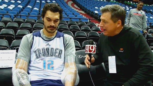 One-On-One With Steven Adams