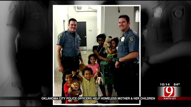 OKC Police Help Mother And Kids Sleeping In Car Find Shelter