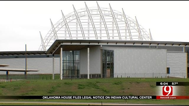 State Lawmakers Consider Giving Unfinished Indian Cultural Center To City Of OKC