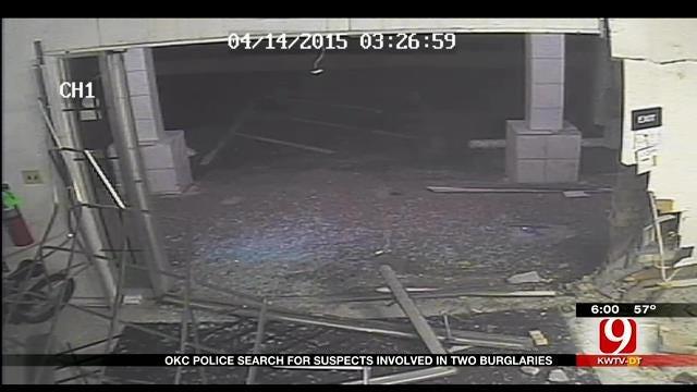 Crash And Grab Thieves Pull Off Two Metro Burglaries